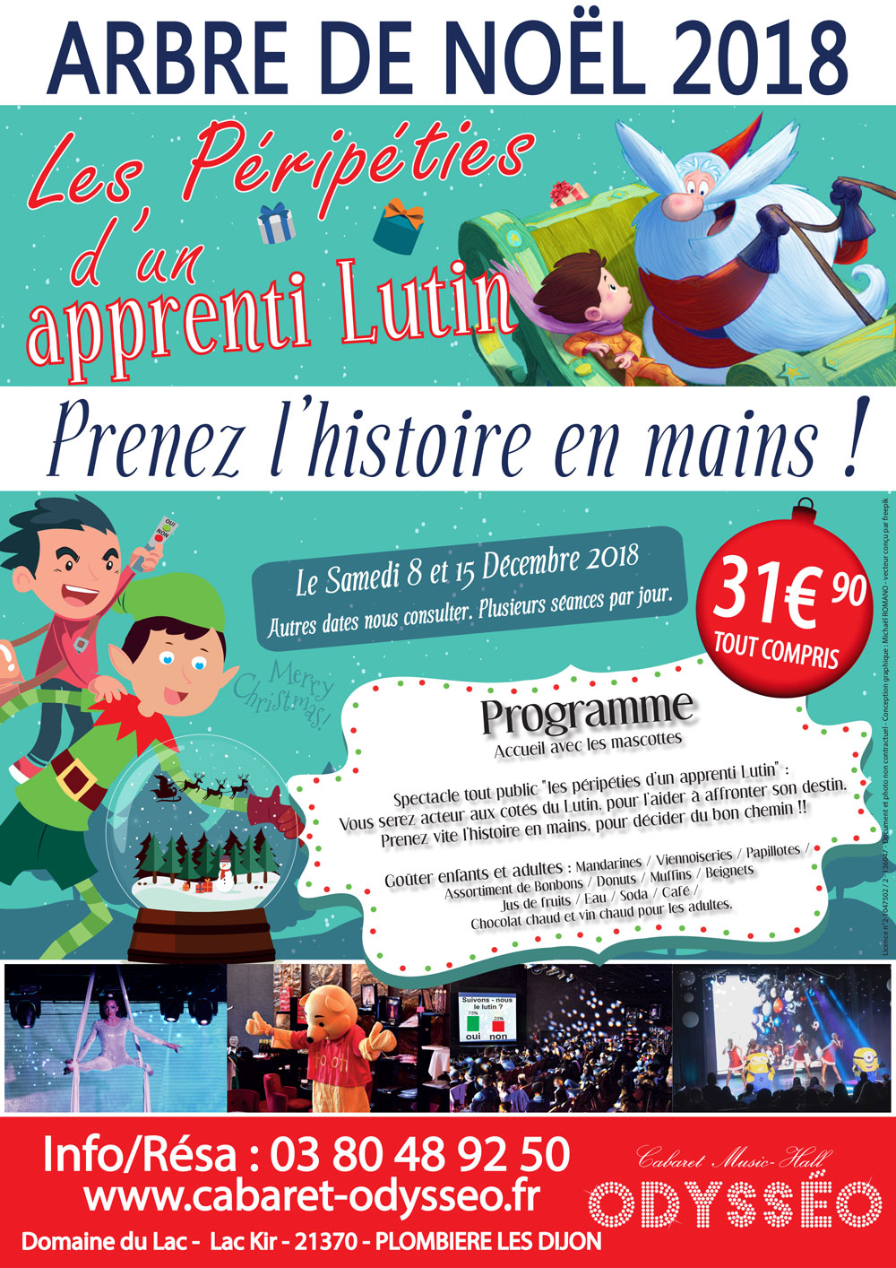 Arbre de Noël 2018 Spectacle de Noël Spectacle pour enfants