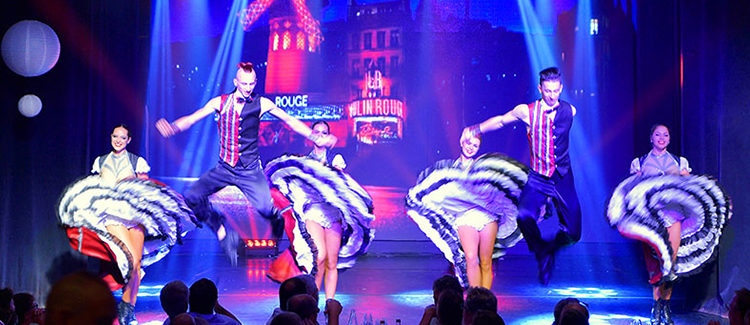 French Cancan Cabaret Dijon Bourgogne