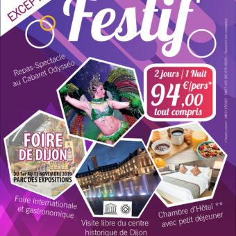 Dijon Week-end gastronomique Foire Gastronomique Offre week-end pas cher