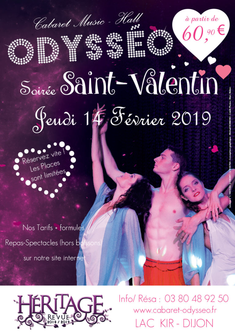 Saint-Valentin Soirée romantique à Dijon