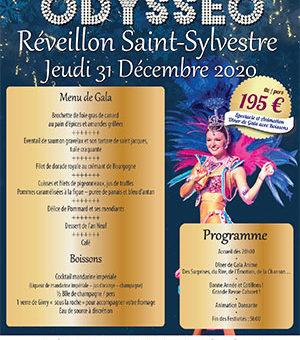 Réveillon Saint-Sylvestre – Repas-Spectacle